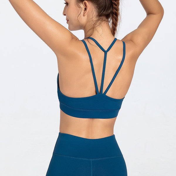 Quick-dry Beauty Back Bodybuilding Shockproof Yoga Bra