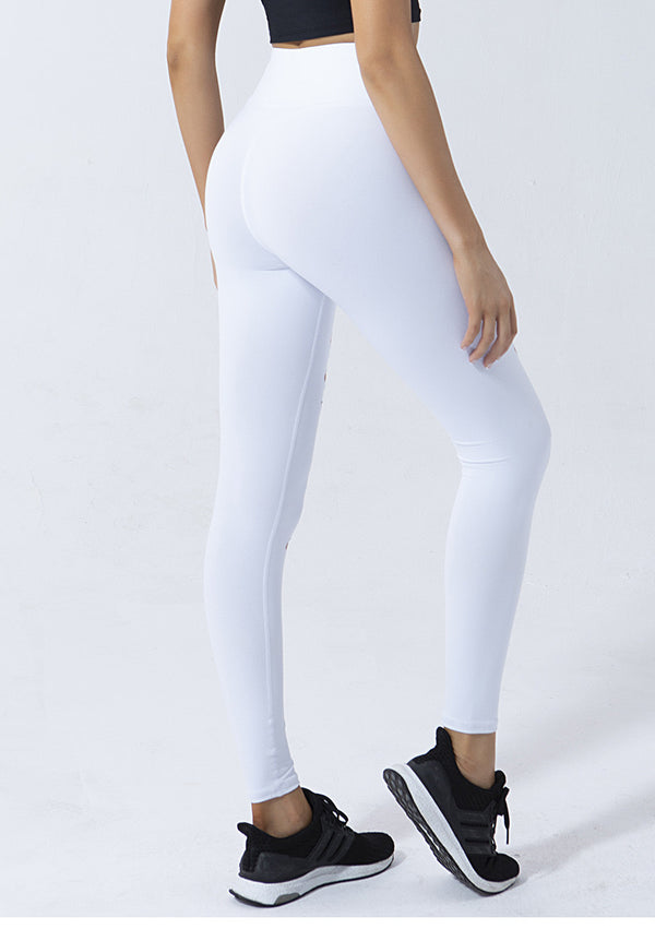 High Waist Hole Fitness Leggings