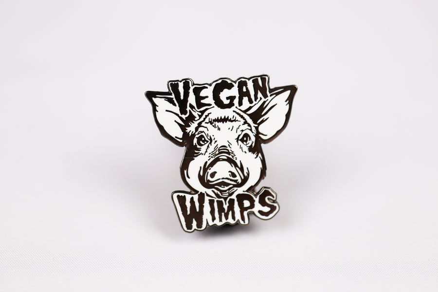 Vegan Wimps Pin