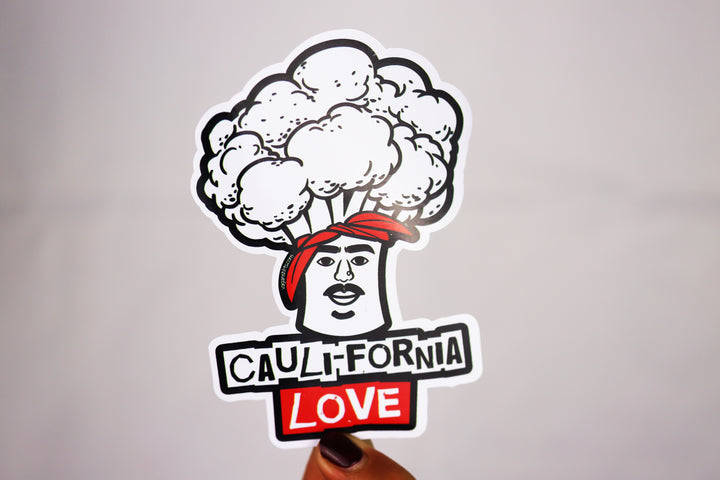 Cauli-fornia Love Sticker