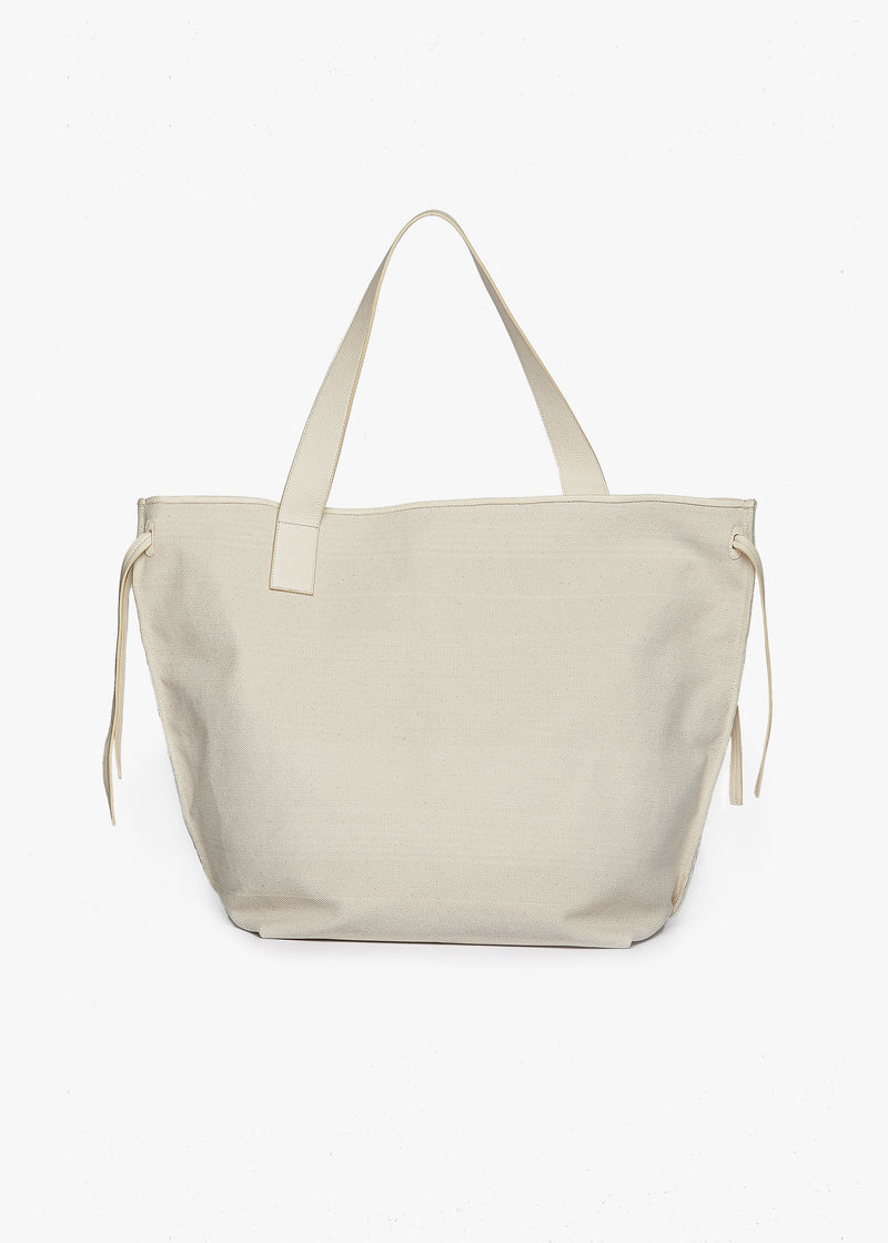 Philippine Large Shopper Tote by Aeron in Cream