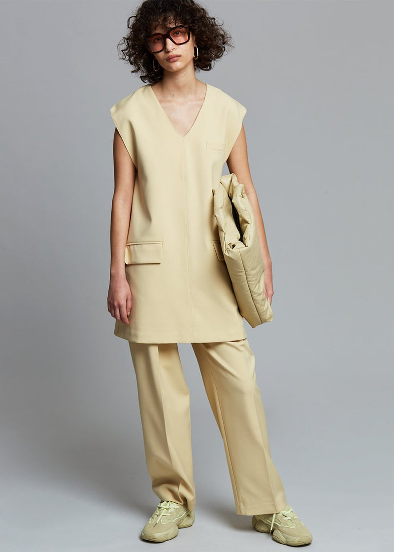 Clemence Paperbag Trousers in Sunlight