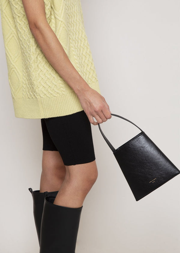 Mini Curve Bag by Low Classic in Black