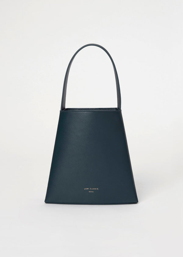 Mini Curve Bag by Low Classic in Peacock Green