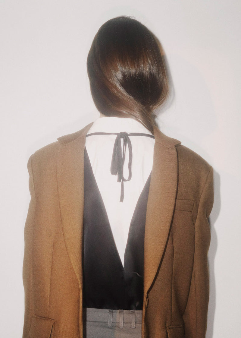 Wall Street Blazer by The Garment in Brown