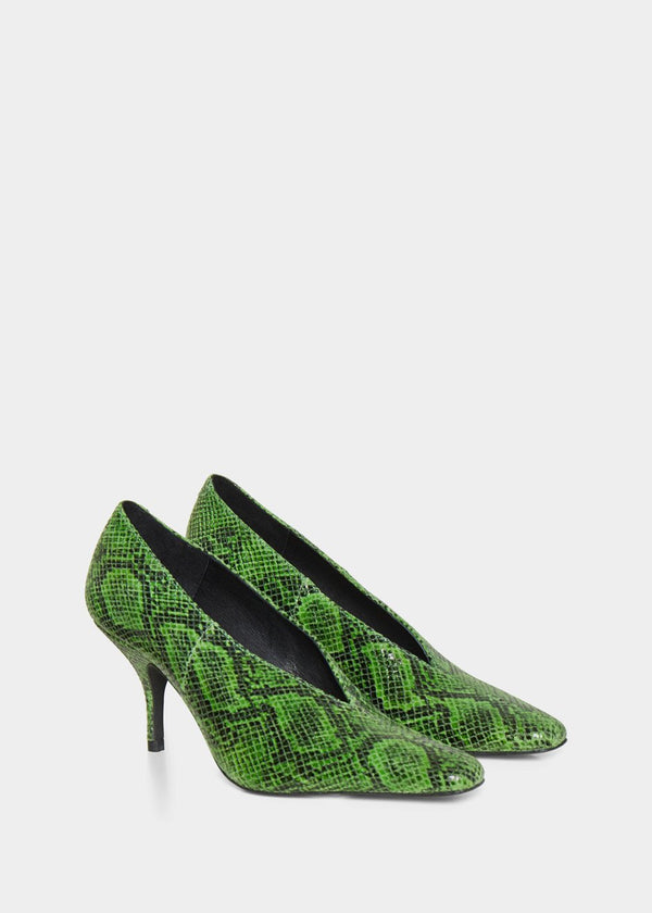 Bayla Pumps by Gestuz in Online Lime