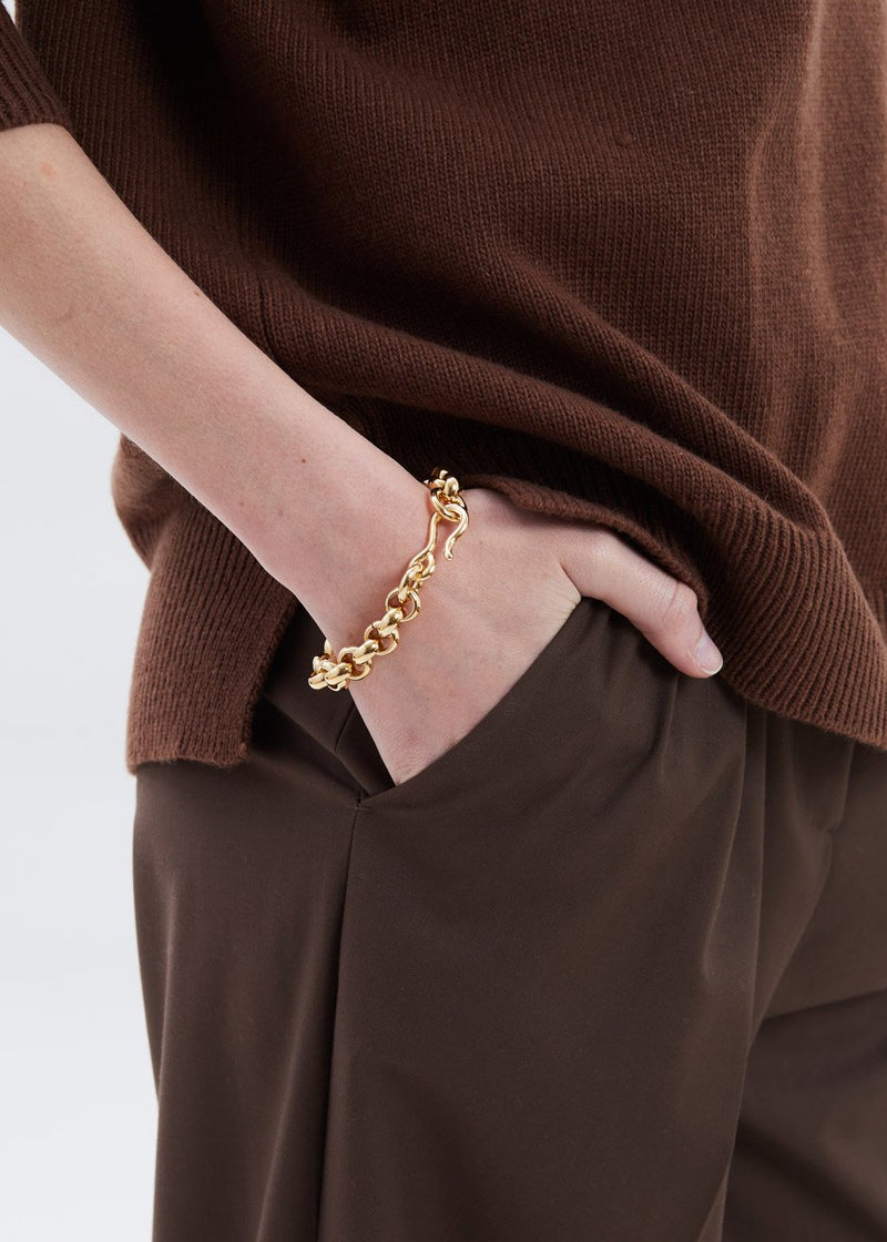 Piera Bracelet by Laura Lombardi in Gold