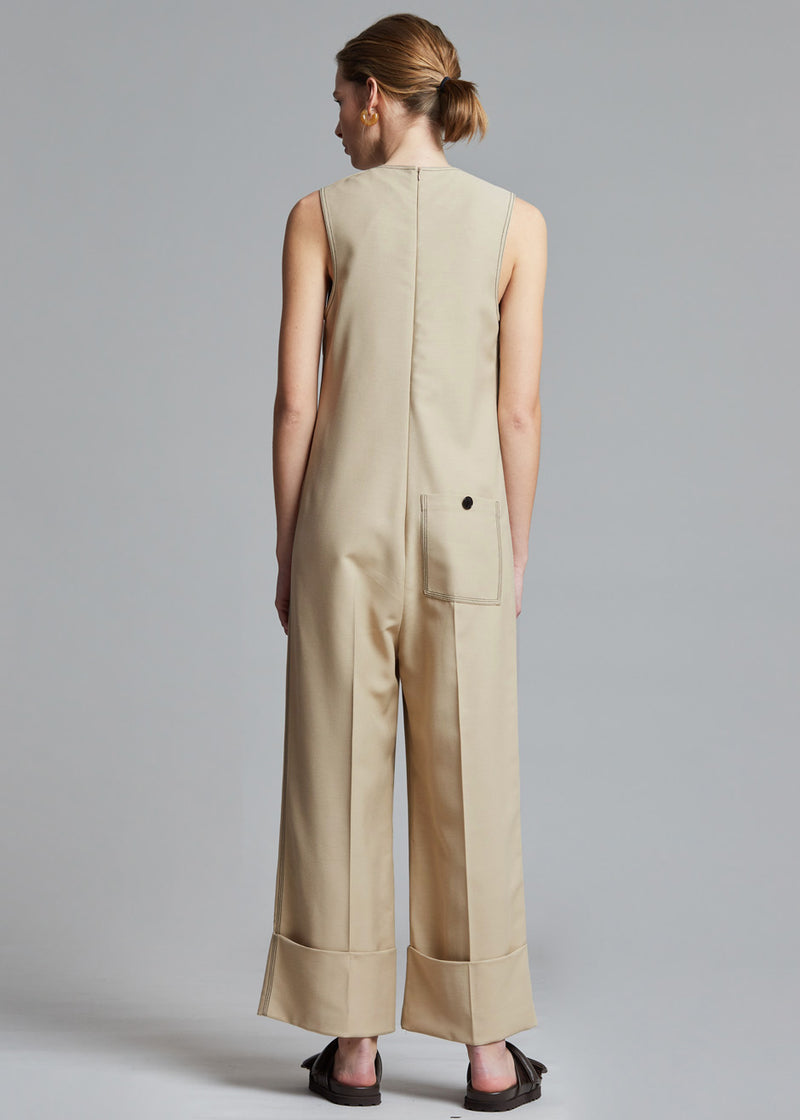 Java Jumpsuit by Aeron in Sand