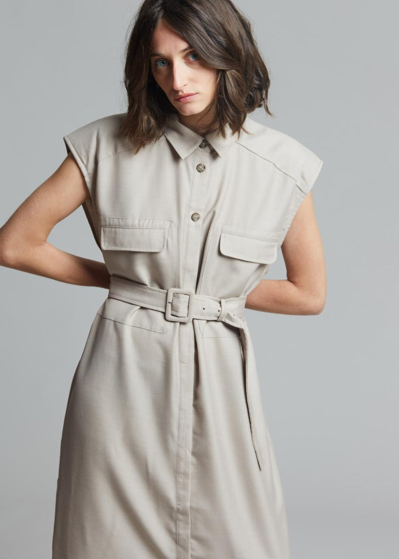Gestuz Leeja Shirt Dress - Pure Cashmere