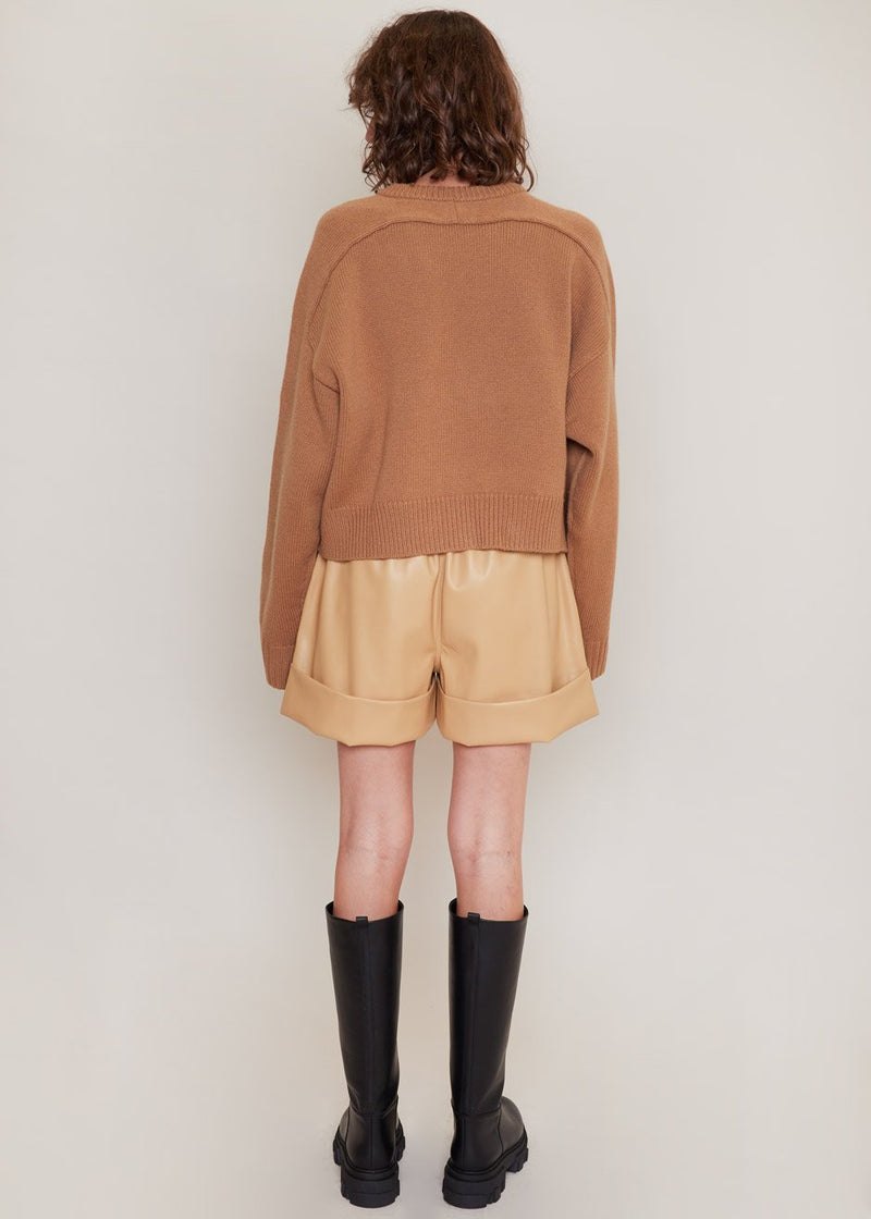 New Bruzzi Sweater by Loulou Studio in Camel