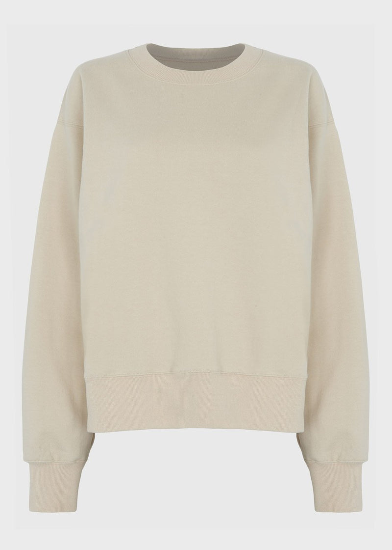 Fleece Boyfriend Sweatshirt in Dew