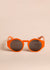 Disc Sunglasses by TOL Eyewear in Orangina