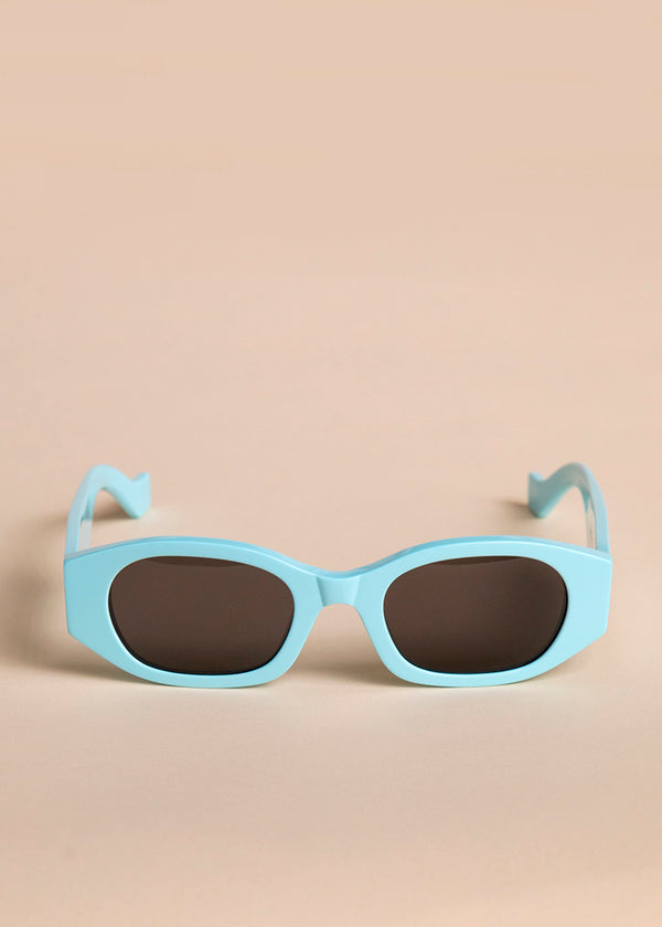 Oblong Sunglasses by TOL Eyewear in Mint