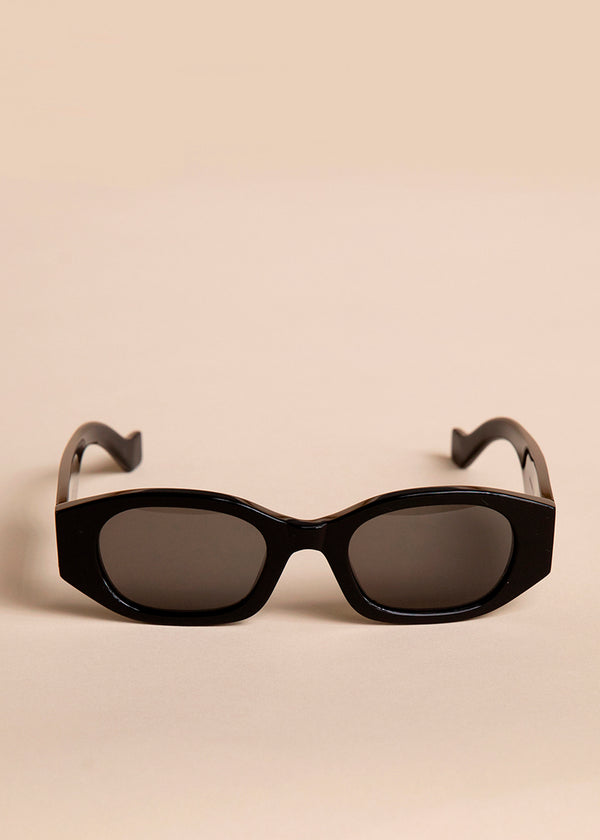 Oblong Sunglasses by TOL Eyewear in Noir