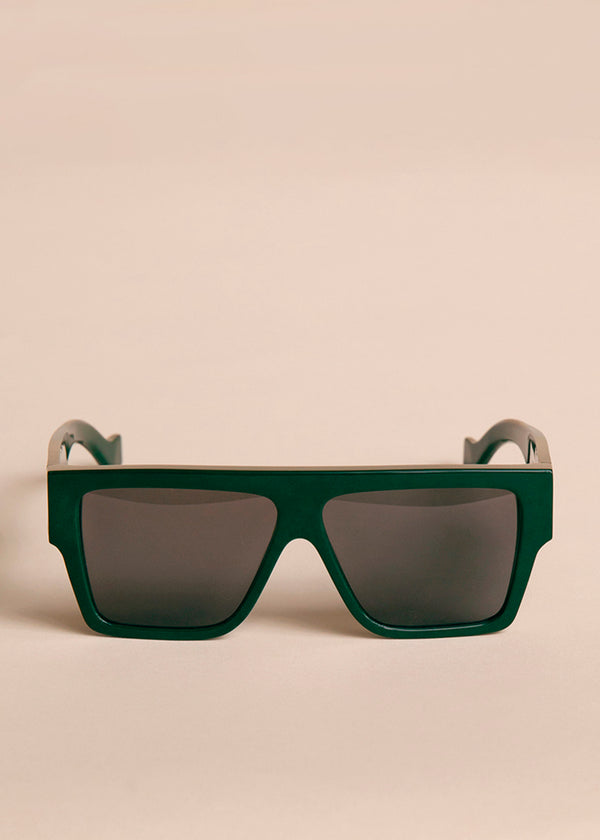 Lazer Sunglasses by TOL Eyewear in Lodge Green