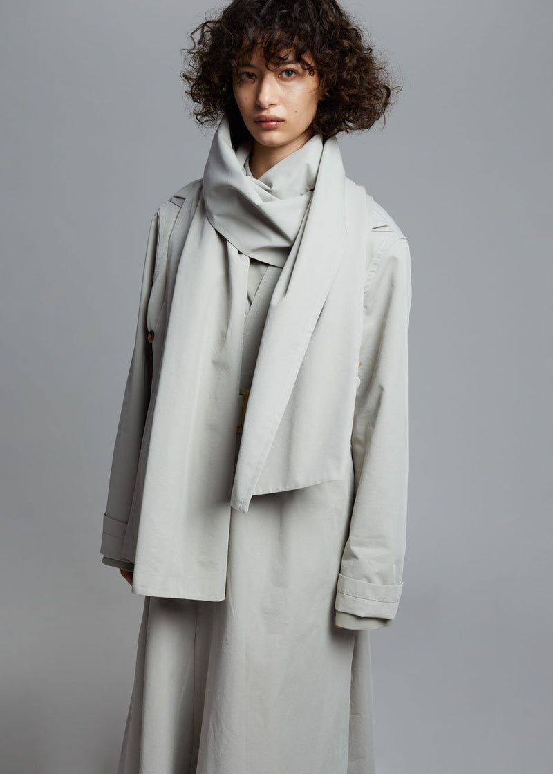 Arden Layered Trench Coat in Agate Coat Paper Moon