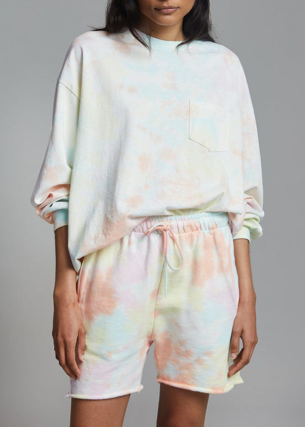 Astrid Sweat Shorts - Summer Tie Dye Shorts Maran