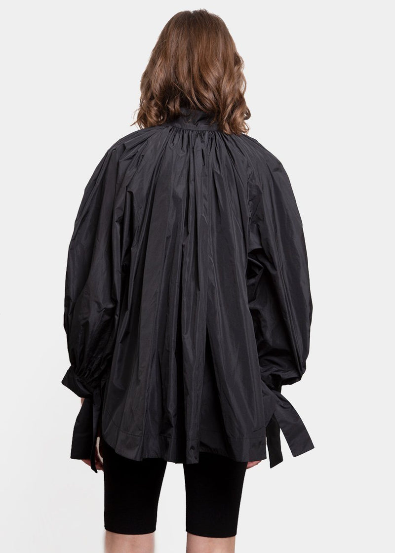 Black Oversized Painter Blouse by Studio Cut Shirt Studio Cut