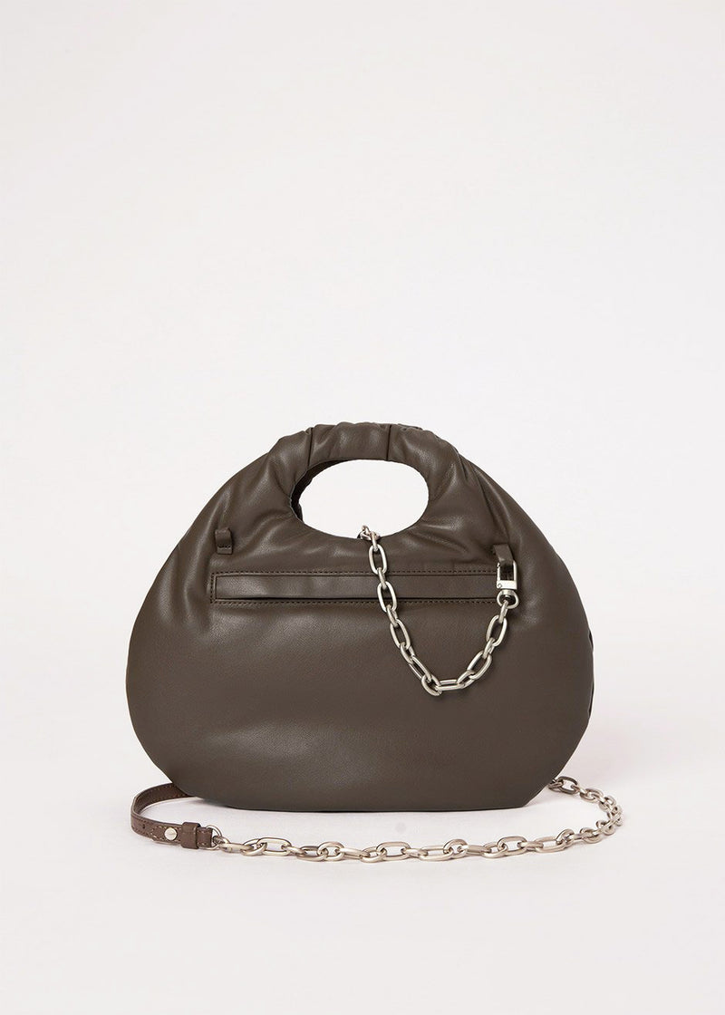 Egg Bag by Low Classic in Dark Brown
