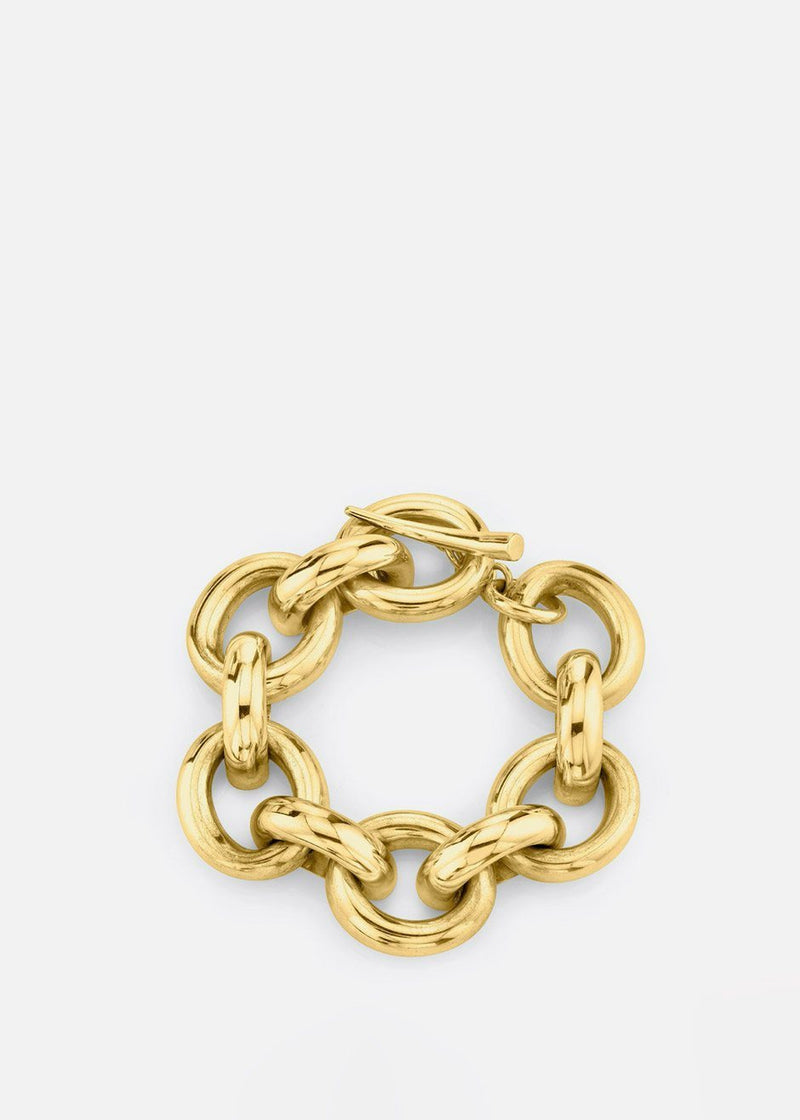 Full Link Bracelet By Gabriela Artigas in Gold Bracelet Gabriela Artigas
