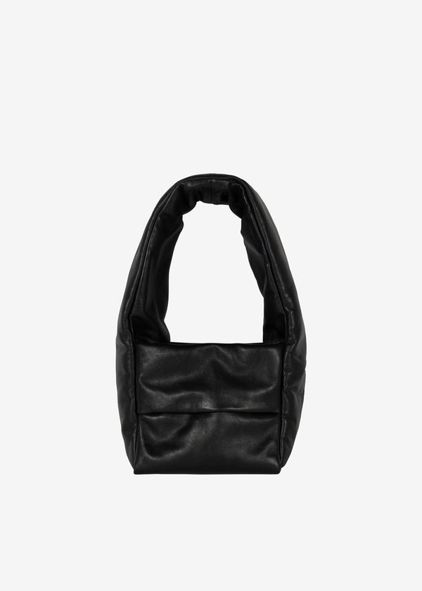 KASSL Editions Monk Small Leather Bag - Black Bag KASSL Editions