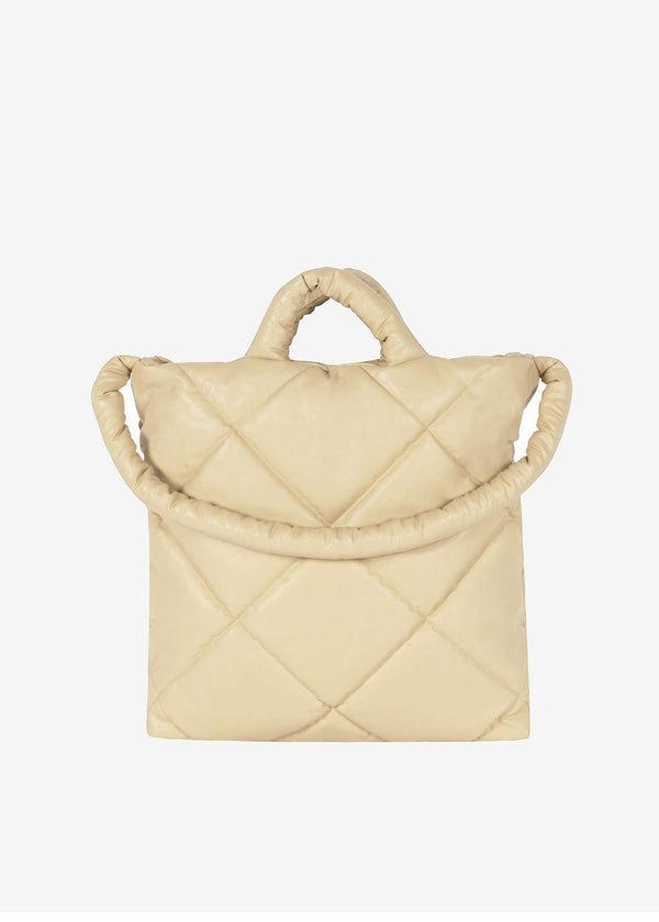 KASSL Editions Oil Medium Quilted Tote Bag - Sand Bag KASSL Editions