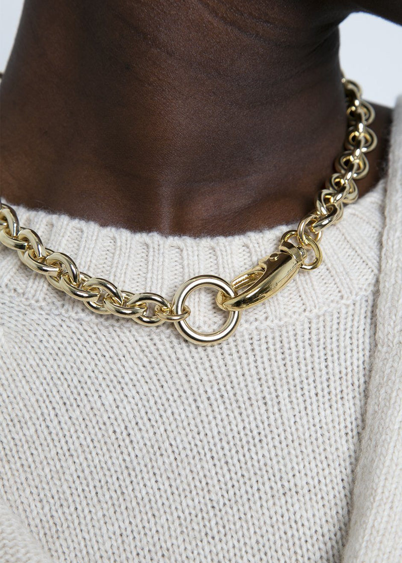 Laura Lombardi Cable Chain Necklace Necklace Laura Lombardi