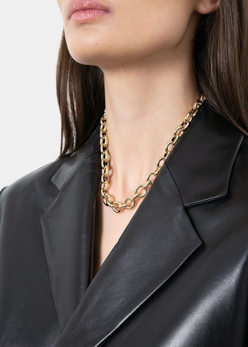 Laura Lombardi Uovo Gold Chain Necklace Necklace Laura Lombardi