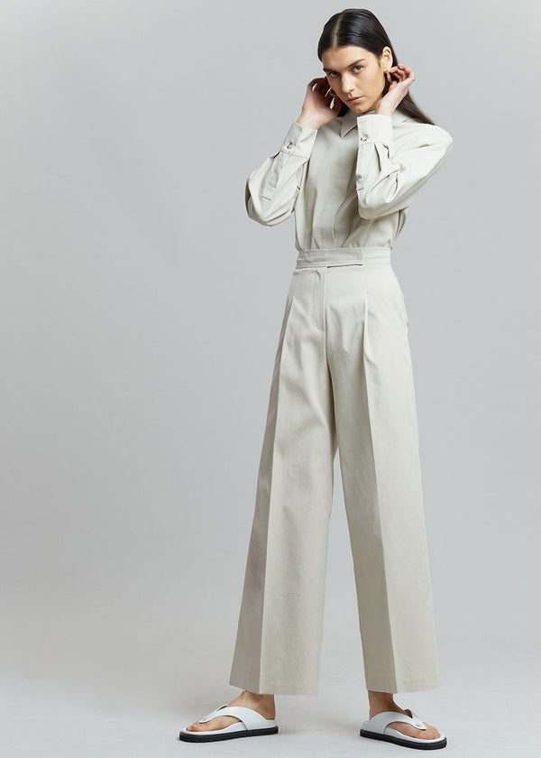 Liesl Wide Leg Trousers in Birch