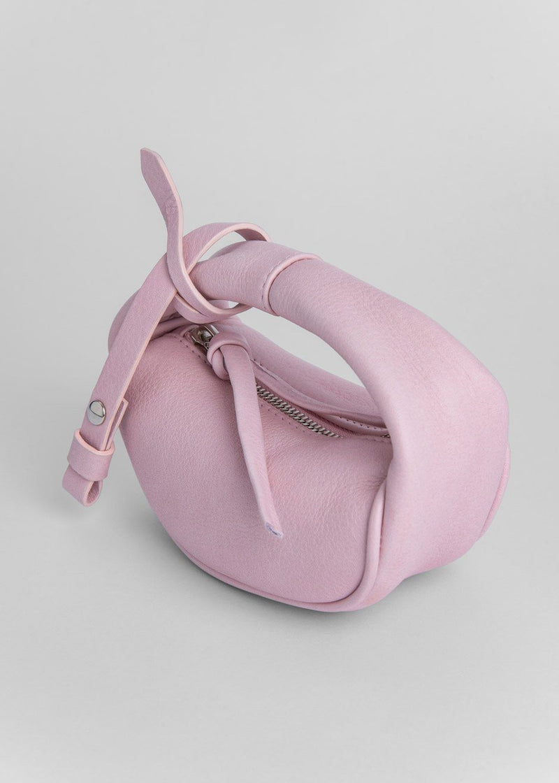 Micro Cush Leather Bag by BY FAR in Peony Bag By Far