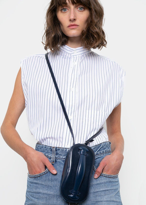 Mini Structure Bag by Low Classic- Dark Navy Bag Low Classic