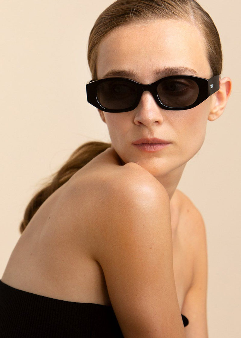 Oblong Sunglasses by TOL Eyewear in Noir Sunglasses TOL Eyewear