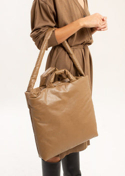 Oil Medium Tote Bag by KASSL Editions in Camel Bag KASSL Editions