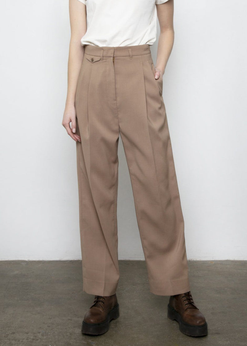 Pernille Boy Pants in Brown Pants More than Yesterday