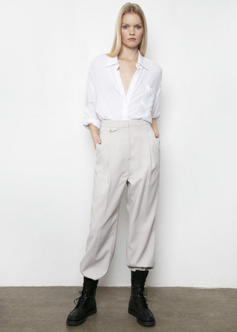 Pernille Boy Pants in Grey Pants More than Yesterday