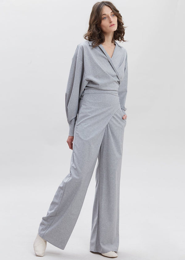 Piave Pants by Shaina Mote in Heather Grey Pants Shaina Mote