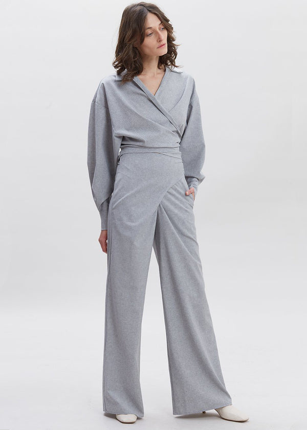 Piave Pants by Shaina Mote in Heather Grey