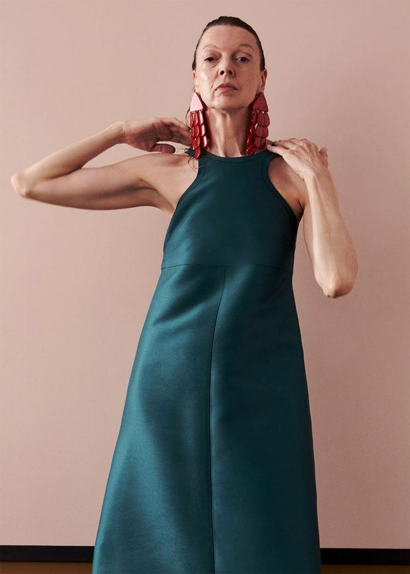 Rachel Comey Diverso Dress- Broccoli Dress Rachel Comey