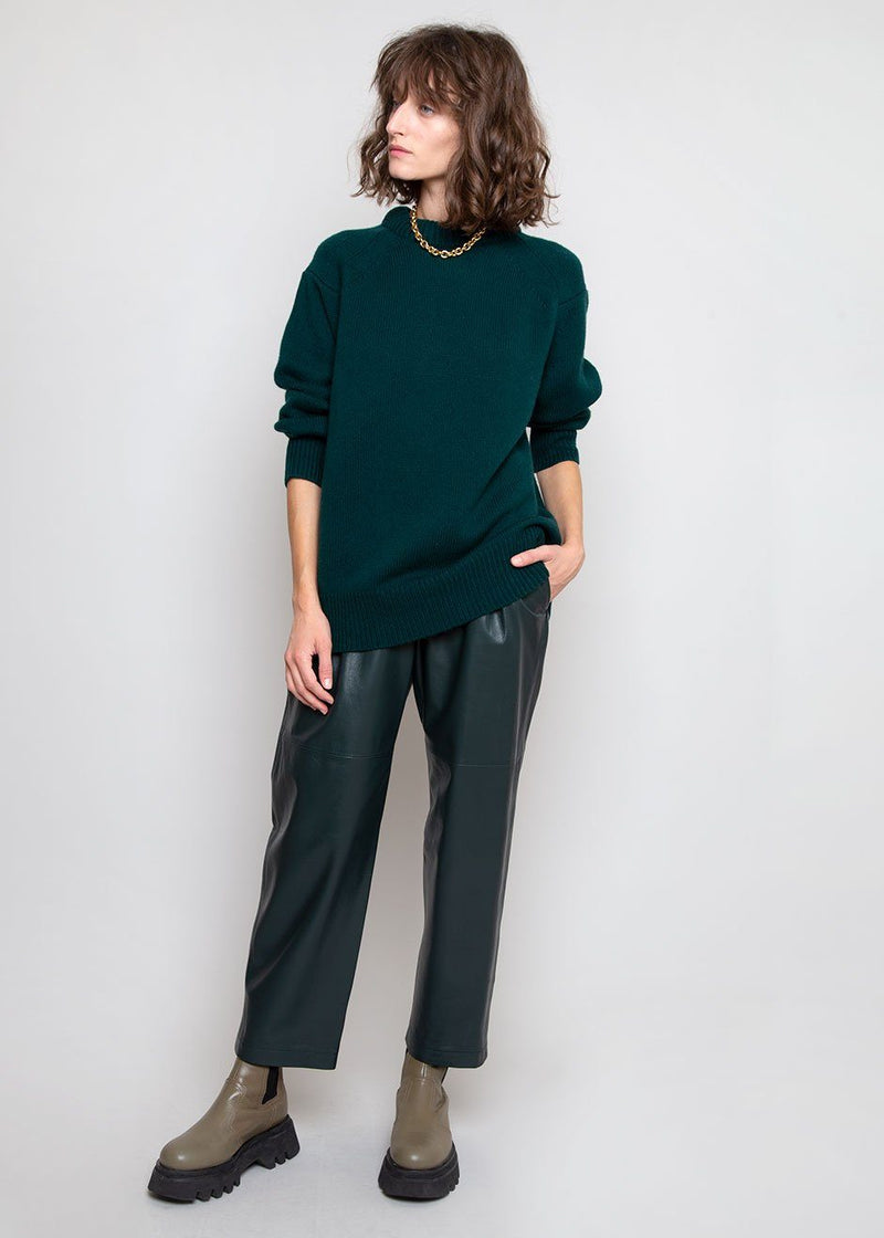 Ratino Sweater by Loulou Studio in Green Sweater Loulou Studio
