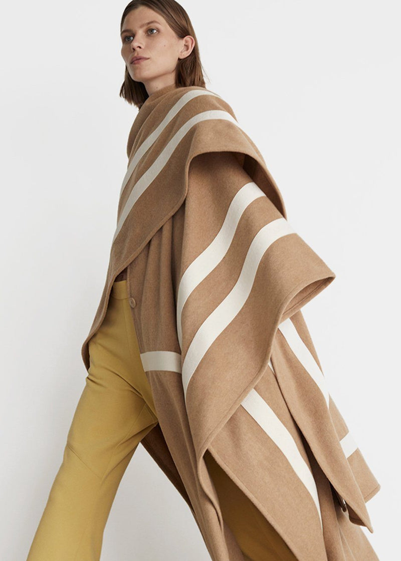 Rodebjer Zuha Poncho- Camel Poncho Rodebjer