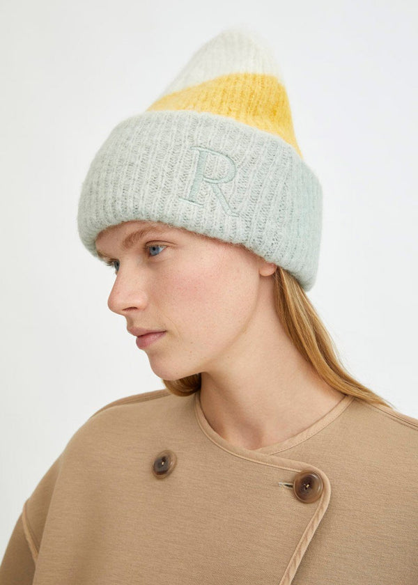 Sendina Beanie by Rodebjer in Multi Hat Rodebjer