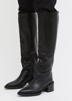 Siri Knee High Boots by Rodebjer in Black boots Rodebjer