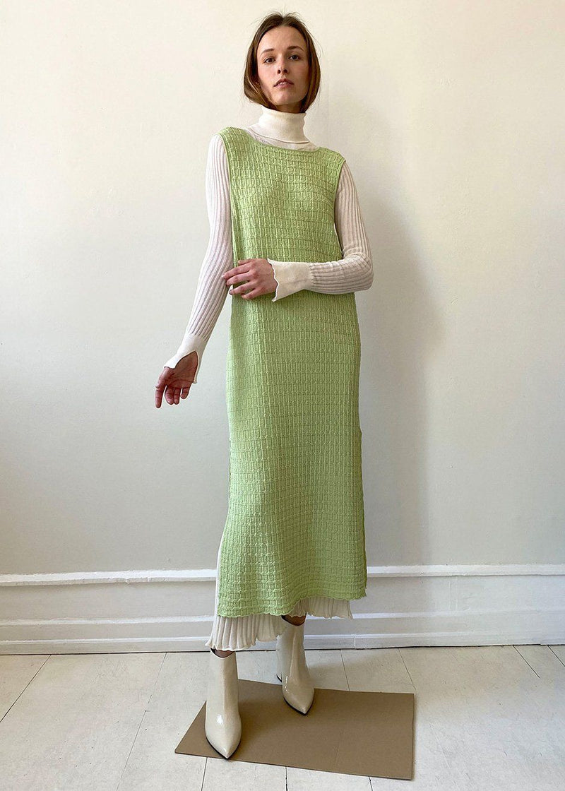 Soleil Dress by Rus- Pale Green Dress Rus the Brand