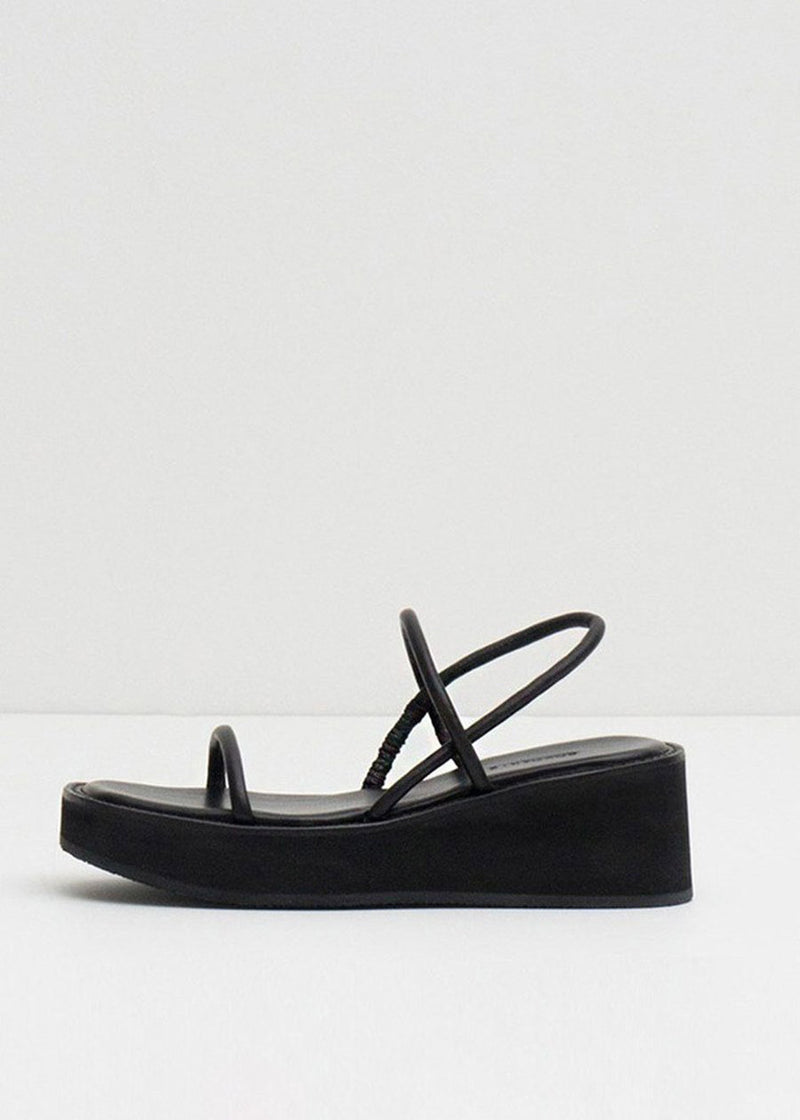 String Sandals by Amomento in Black
