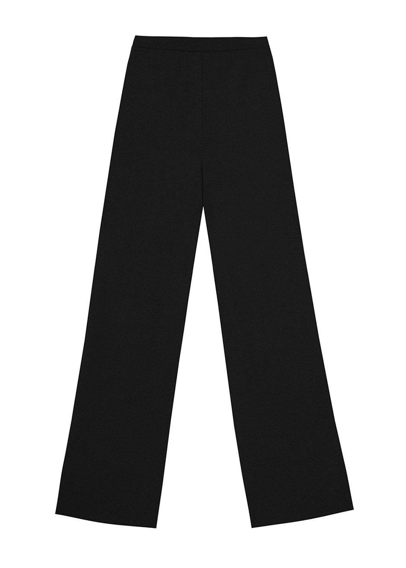 Tatum Pyjama Pants by Nanushka- Black Pants Nanushka