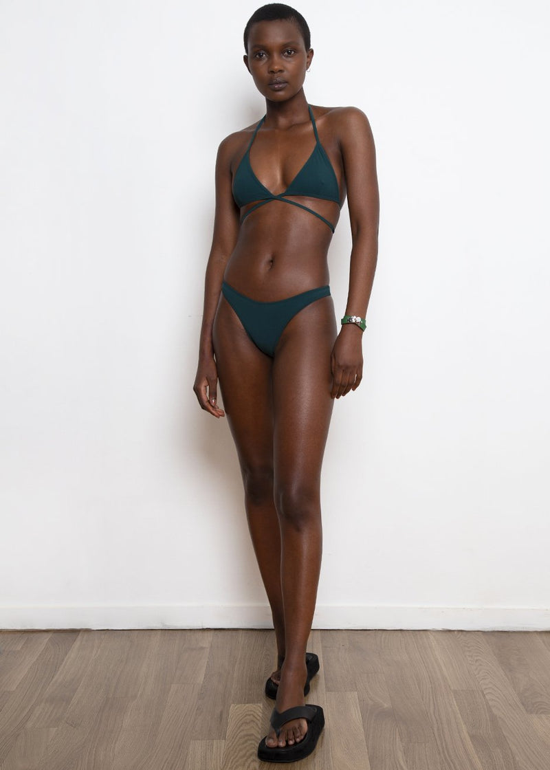 Tredici Two Piece Swimsuit by Lido- Indian Jade swimsuit Lido