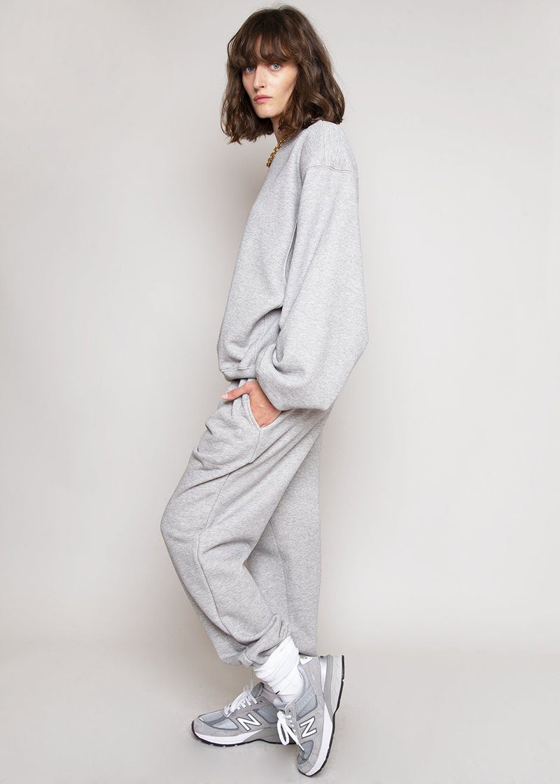 Vanessa Sweatpants in Light Grey pants The Frankie Shop
