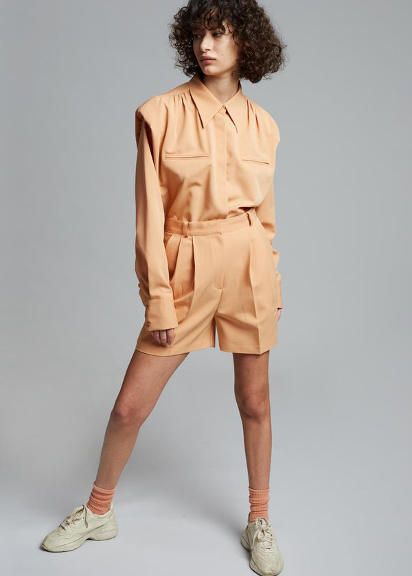 Vianne Suit Shorts in Apricot Shorts Stage