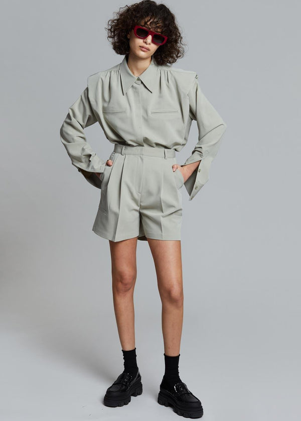 Vianne Suit Shorts in Seagrass Shorts Stage