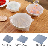Silicone Bowl Covers Food Wrap Reusable